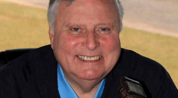 Veteran commentator Peter Alliss