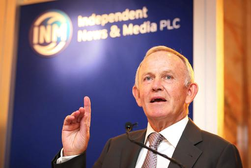 Independent News & Media PLC Chairman Leslie Buckley