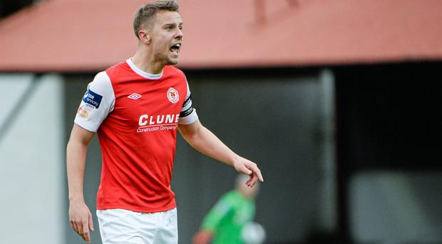 Ger O'Brien believes St Patrick's Athletic have what it takes to cause an upset in their Champions League qualifier against Legia Warsaw. Photo: Piaras O Midheach / SPORTSFILE
