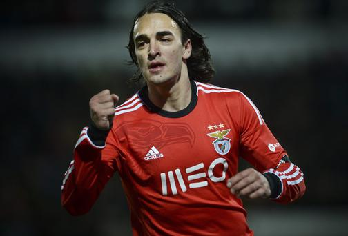 Serbian midfielder Lazar Markovic has completed his move fro to Liverpool. Photo: PATRICIA DE MELO MOREIRA/AFP/Getty Images