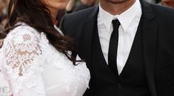 Frank Lampard and Christine Bleakley arriving for the 2011 National Movie Awards at Wembley Arena, London