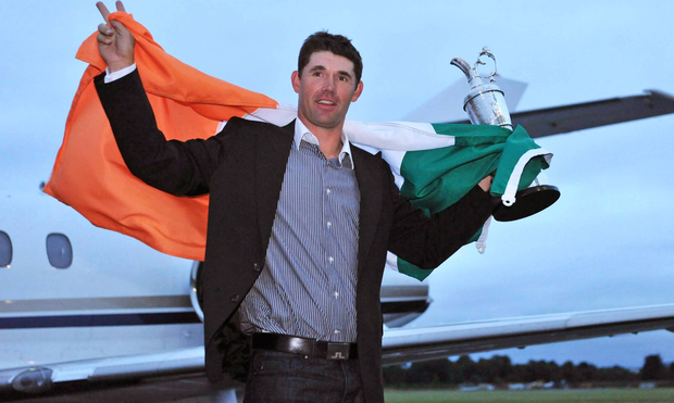 Three-time Major winner Padraig Harrington