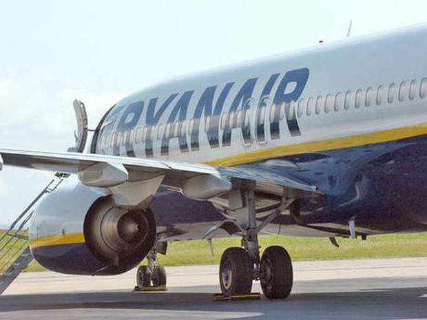 A Ryanair Boeing 737 aircraft (Getty Images)