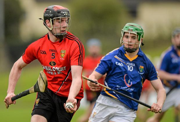 Brett Nicholson scored twice for Down as they overcame Armagh in the Ulster U-21 hurling semi-final. Photo: Piaras O Midheach / SPORTSFILE