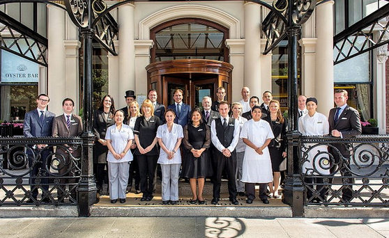 The Shelbourne staff