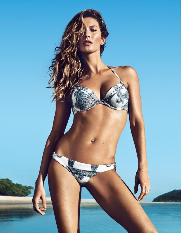 Gisele Bundchen for H&M Swimwear 2014