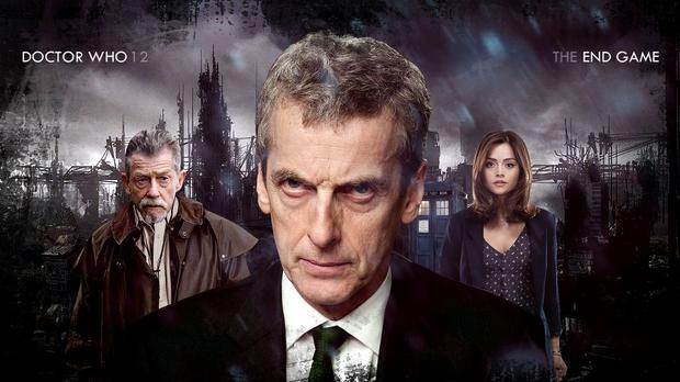 Peter Capaldi as Dr Who