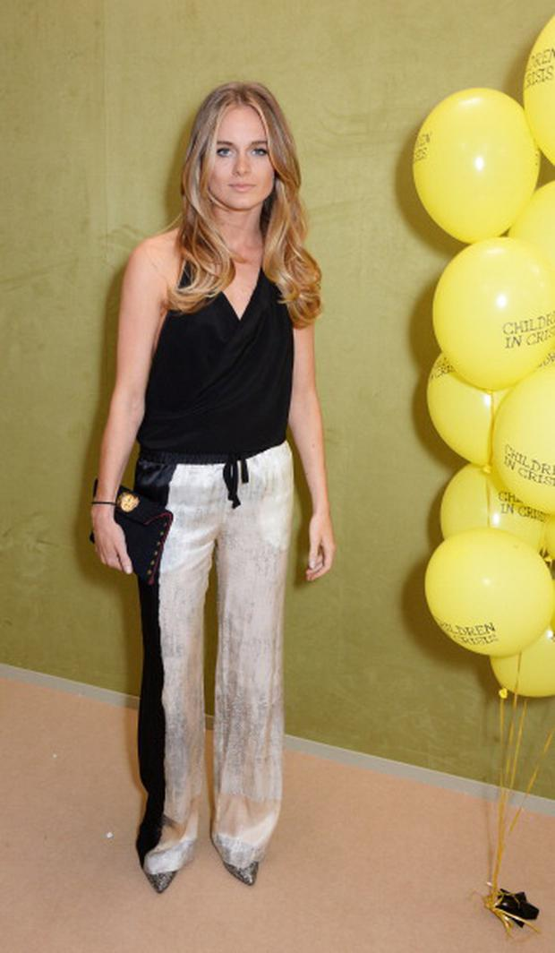 Cressida Bonas attends the Art Antiques London Gala Evening in aid of Children In Crisis at Kensington Gardens