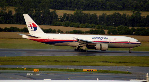 A file photo of the Malaysian Airlines Boeing 777 believed to have been shot down over eastern Ukraine