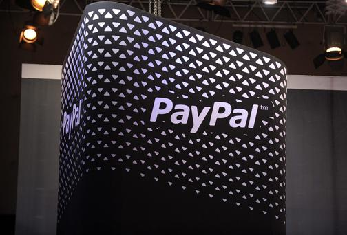 Online payment company PayPal - which is planning to add 400 more jobs to its operation in Ireland - performed strongly to salvage the quarterly results of parent company eBay. Photo: ERIC PIERMONT/AFP/Getty Images