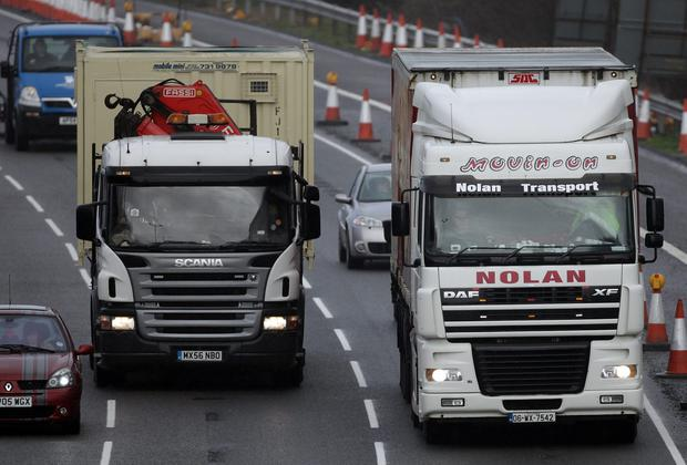 Wexford's Nolan Transport is considered one of Ireland's business success stories. Photo: Matt Cardy/Getty Images