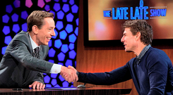 Ryan Tubridy chats to Tom Cruise on The Late Late Show