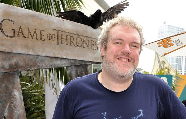 SAN DIEGO, CA - JULY 12: Kristian Nairn attends WIRED Cafe at Comic-Con held at Palm Terrace at the Omni Hotel on July 12, 2012 in San Diego, California. (Photo by Jerod Harris/Getty Images for WIRED)