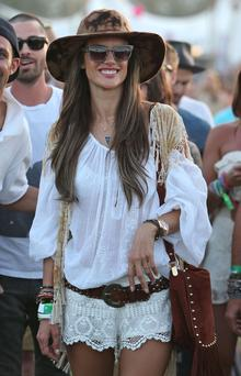Alessandra Ambrosio at Coachella