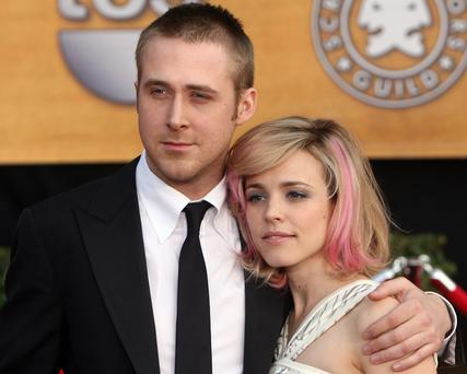 Actors Ryan Gosling and Rachel McAdams in 2007