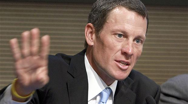 Spilling the beans: Lance Armstrong has given evidence to investigators