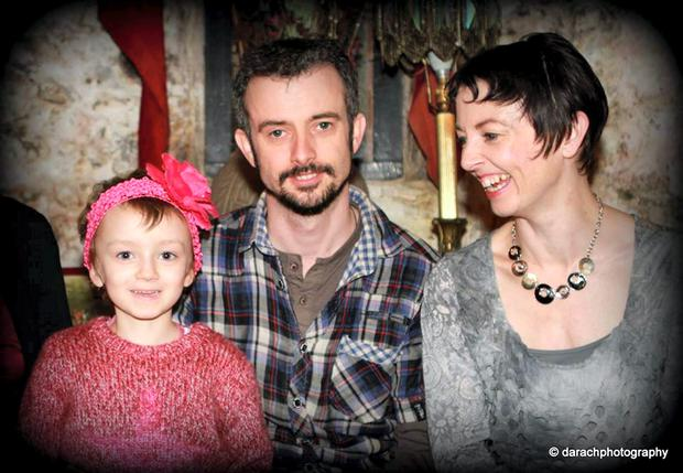 ily-Mae Morrison, pictured with her mum Jude and her uncle Paul