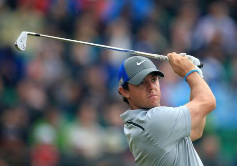 Northern Ireland's Rory McIlroy during day three of the 2014 Open Championship at Royal Liverpool Golf Club, Hoylake