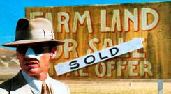 DISPUTE: Jack Nicholson in 'Chinatown', the film inspired by the rows over water taken from the farmland of the Owens Valley, California, by the Los Angeles Department of Water