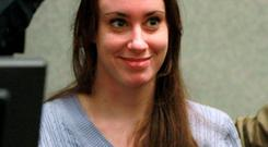 Casey Anthony pictured in court in 2011. Reuters