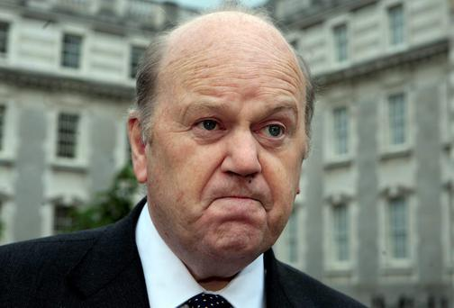 Finance Minister Michael Noonan has pointed out that if the IMF loans were repaid, the less onerous European loans would also fall due