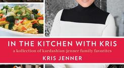 Kris' new cookbook 'A Kollection of Kardashian and Jenner Family Favourites' hits the shelves next autumn