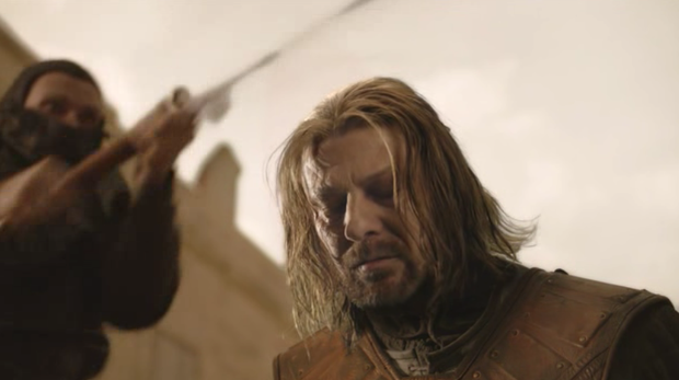 Eddard Stark in Game of Thrones