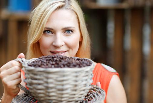 Pictured at the announcement of details of the first ever Dublin Coffee & Tea Festival 2014, which is taking place at the RDS (Industries Hall), Dublin 12-14 September 2014 was model Sarah McGovern.