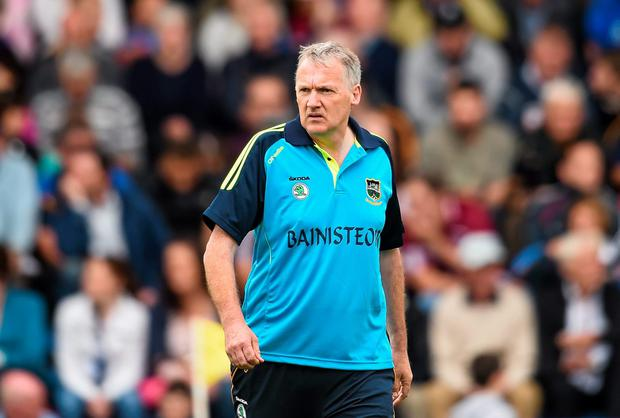 Tipperary manager Eamon O'Shea believes the healthy competition for places on his team along with the the presence of experienced campaigners like Eoin Kelly has helped his charges get their season back on track. Photo: Stephen McCarthy / SPORTSFILE