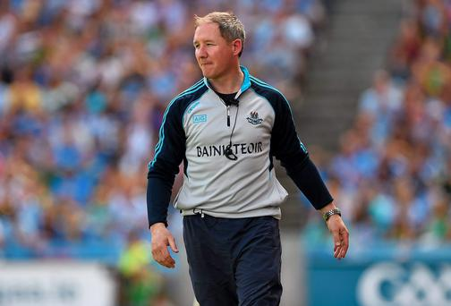 If Dublin do face Monaghan or Donegal in the All-Ireland semi-final, it'll be the first time that Jim Gavin's Dublin will have encountered a rigid defensive system in the championship this year. Photo: Barry Cregg / SPORTSFILE