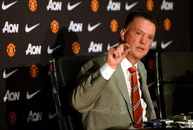 New Manchester United manager Louis Van Gaal wants close attention paid to the details when it comes to the facilities at the club. Photo: REUTERS/Nigel Roddis