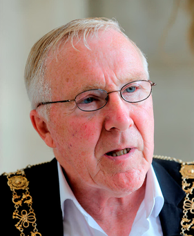 Dublin's Lord Mayor Christy Burke.