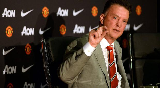 Manchester United manager Louis Van Gaal has an aura which has impressed the club's board.