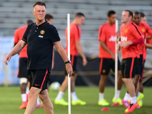 Louis van Gaal puts United through their paces