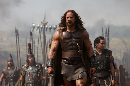 Dwayne Johnson plays Hercules and Reece Ritchie plays Iolaus.