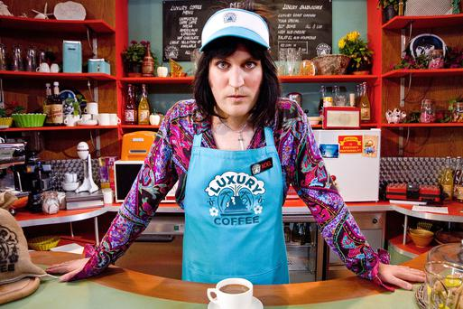 Noel Fielding in Luxury Comedy