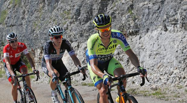 Ireland's Nicolas Roche has been showing his battling qualities in the Pyrenees