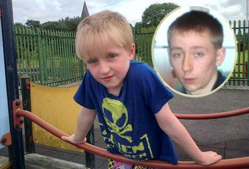 Brandon Skeffington and his brother Shane (inset)