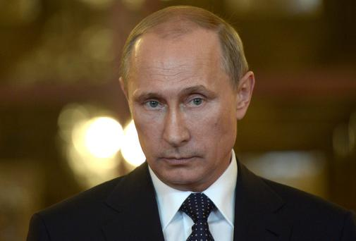 Russian President Vladimir Putin is accused of aggravating the conflict in Ukraine