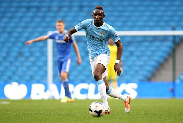 Seko Fofana claimed he suffered racial abuse during the game between Manchester City's Elite Development Squad and Croatian side HNK Rijeka. Photo: Jan Kruger/Getty Images