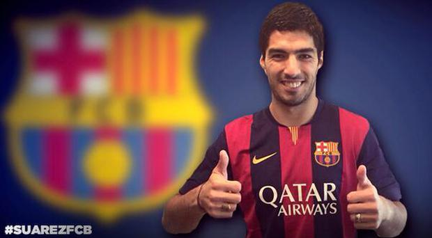 Luis Suarez may make his debut against Real Madrid