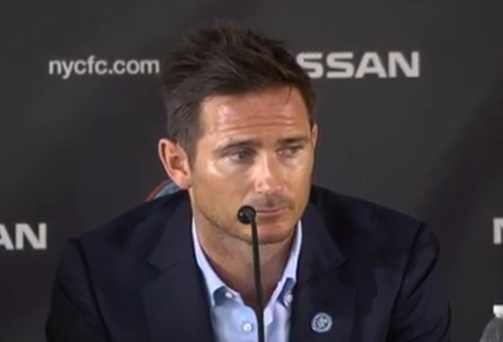 Frank Lampard at his unveiling today
