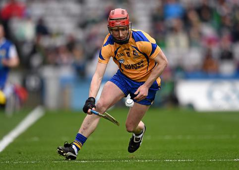 Ollie Canning in action for his club Portumna