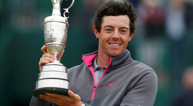 Open Champion Rory McIlroy is desperate to add to his haul of three Majors