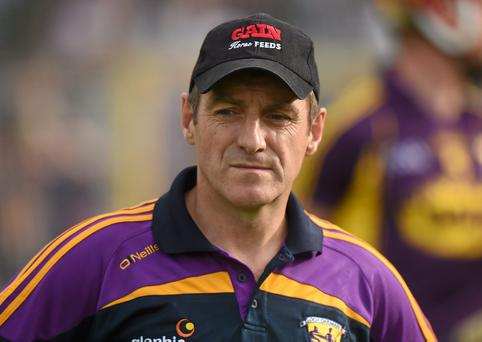 Wexford manager Liam Dunne