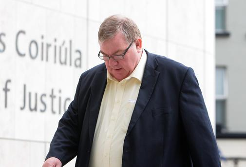 David Ryan (56), of Glenfield Park, Clondalkin, at court yesterday (Thurs) where he was given a three year suspended sentence for dangerous driving causing serious bodily harm in 2011.