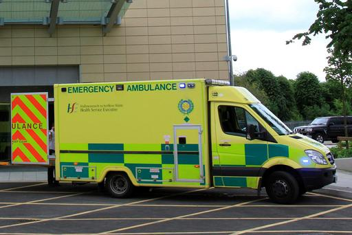 The casualty was airlifted to Galway University Hospital where he is in a critical condition tonight.