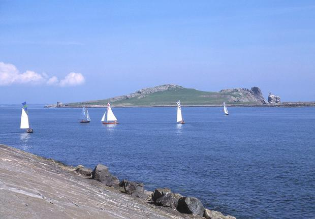 Ireland's Eye as photographed from Howth