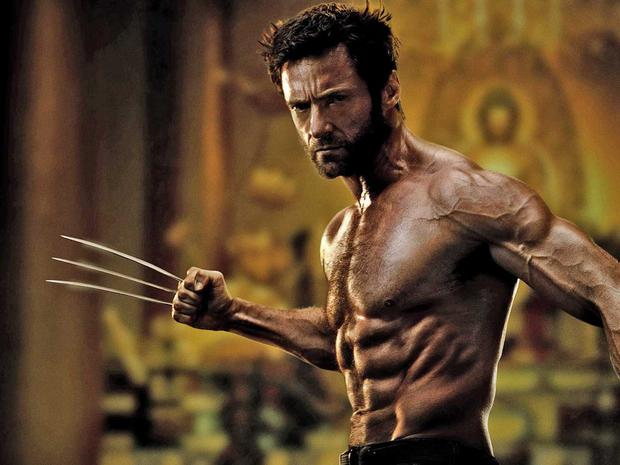 Hugh Jackman in Wolverine. Knives? What knives?