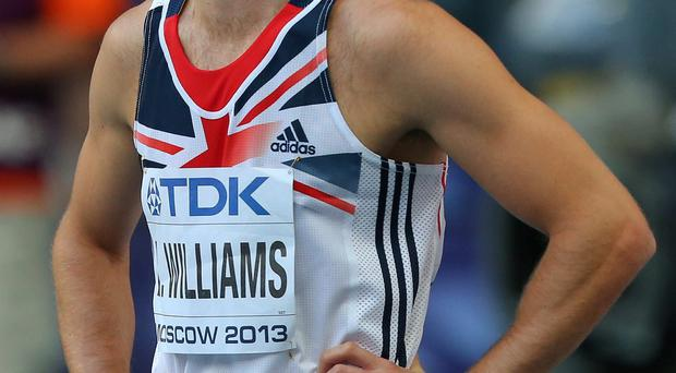 Rhys Williams, Wales' European 400 metres hurdles champion, has been provisionally suspended and will miss the Commonwealth Games after failing a drugs test.